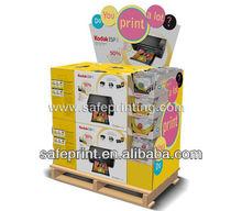 pallet cardboard display pallet merchandiser