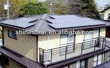 high capacity solar panels,thin film solar ,high efficiency photovoltaic cel SN-M165