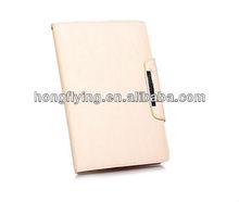 Customized PU leather case cover for ipad mini,book style leather case cover for ipad mini
