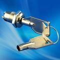 12 mm Micro tubulaire interrupteur à clé de verrouillage