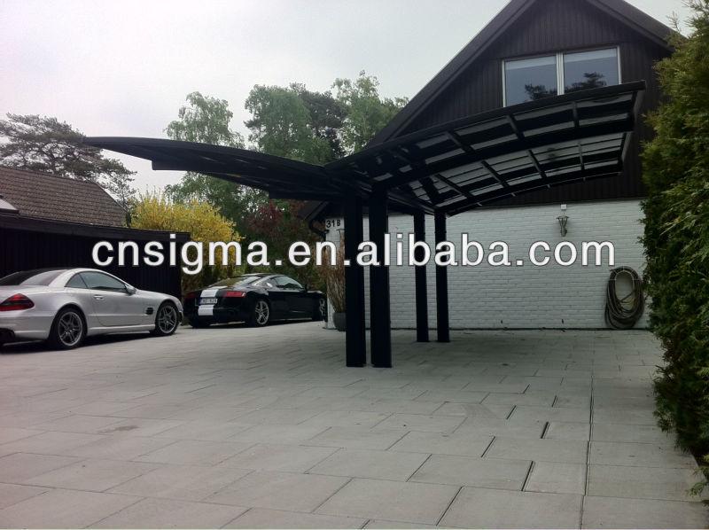 struttura in alluminio carport