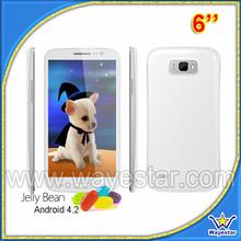 MTK6589 6 inch big screen smartphone with dual sim