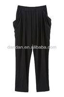cotton fashion haren pants/trousers,women lightweight cotton pants