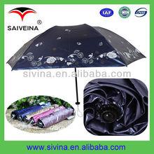 21 inches fashion 3 folding lightweight shanghai umbrella