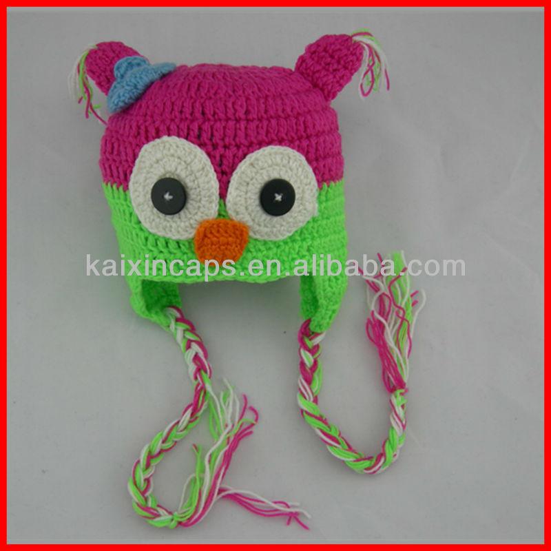 Knitting Pattern Animals Motifs : La mode tricot bonnet 2015/animaux, chapeau de bebe a ...