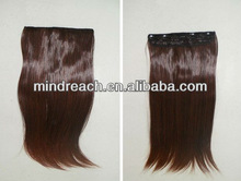 Wholesale one piece clip-in hair extension, accept escrow payment