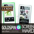 Ajustement parfait pour Ipod Nano 7 protecteur d'écran du fabricant