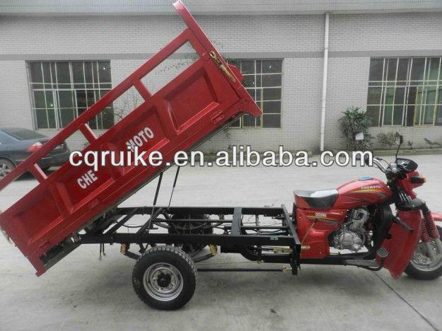 200CC-300CC Cargo Tricycle, Hydraulic three wheel motorcycle