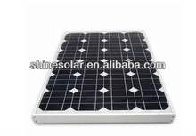 60W Mono solar pv module .solar panel,mono solar cells panel