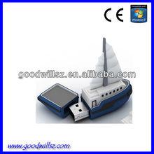 2.0 bulk cheap pvc sailing usb flash drives