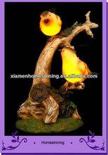 garden crafts bird solar light , resin bird solar light