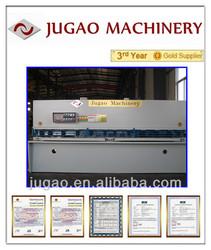 JUGAO Metal sheet QC12Y-55X6000 hydraulic shearing guillotine shear