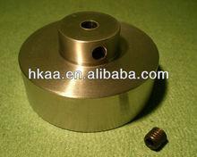 brass flywheel
