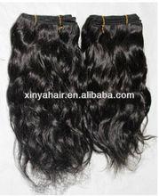 Hair tracks styles 100% virgin african wavy hair extension