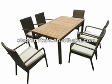 outdoor rattan furniture patio dining set