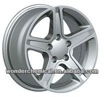 Good corrision resistance Pass 500h salt spray test car wheel powder paint