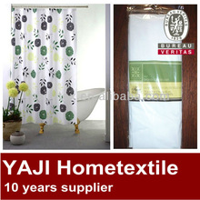 flower printed shower curtain cheap shower curtain
