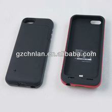 for iphone 5 power bank case, 6 diffetent types and capacity
