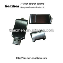 Accept paypal!! Square metal fingerprint usb