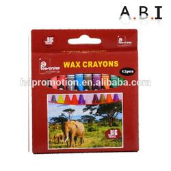 24pcs wax crayons in box
