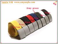 Fashion Metal Buckle multicolor canvas printed belt