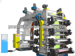 2012 BEST SALE EIGHT Color flexo printing roll to roll machine