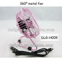 mini metal USB fan/mini table fan portable cooling fan