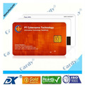 Tarjeta inteligente de contacto SLE5542 / 5528 tarjeta de contacto de ci