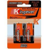 R14 UM-2 c 1.5V dry cell battery