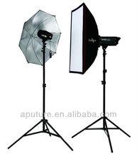 Portable Strobe Lighting Kit photographic lighting kits 180W+300W