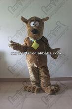 NO.3611 brown fur dog mascot costumes