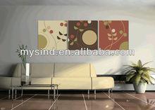 modern decorative wall printing fabric painting designs