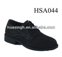 casual trendy style french style walking party footwear mens suede leather dress shoes with coffee color