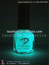 2013 LAUSHINE most popular glow in dark nail polish