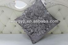 new 3D flower design applique cushion / cushion covers