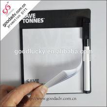 OEM product hot selling fridge magnetic memo pad for 2014