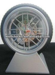NEW ARRIVAL!!! Antique Tire Shape Table Clock