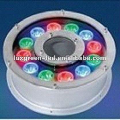 24v 27w underwater light IP68 RGB 3in1 by dmx 3years warranty