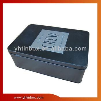 man's belt tin packaging box