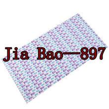 Elegant lavender ladies print tubular bandana