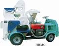 Hbmc& gdmc en movimiento de la serie de procesamiento de arroz del vehículo