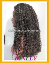 Beautiful curly carnival wigs hair wigs for black women