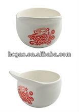 ceramic mug in cap shape