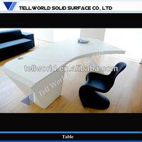 Contemporary Elegane Style Beautiful Design pure acrylic Office Executive Desk (TB-003)