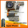 Wholesale for iphone 5 parts accesories back camera replacement