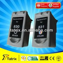 Inkjet cartridge pgi 830 cli 831 for canon ink cartridges pixma ip1880