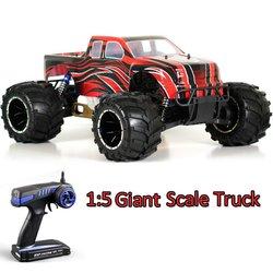 High quanlity 1/5 nitro rc truck model toy