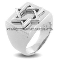 star of david ring