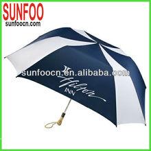 2 folds square fold umbrella