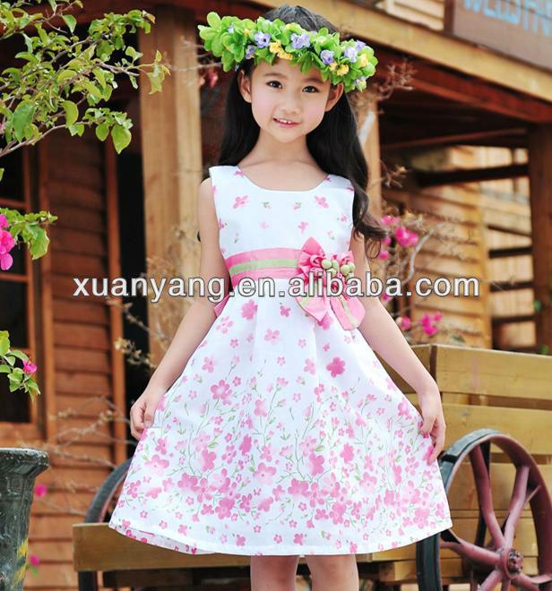 2013 nueva marca de vestidos para niñas de siete años-Vestido de ...